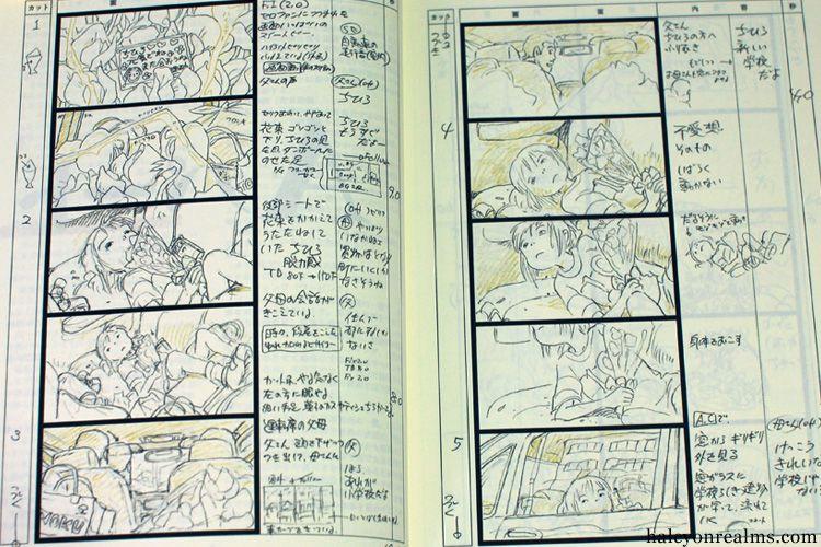 GhibliMiyazaki Storyboards      Storyboard