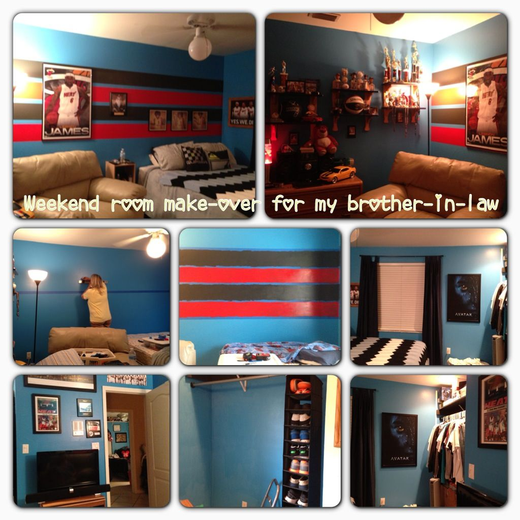 Miami Heat Bedroom With Images