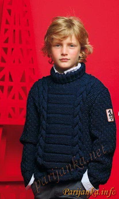 Пуловер с воротником гольф (д) 610 Creations 12/13