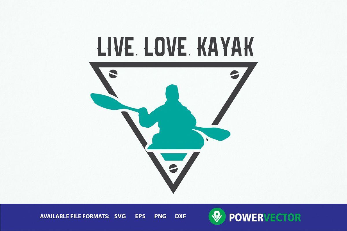 Download Image result for kayak graphics free   Kayaking, Svg, Card ...