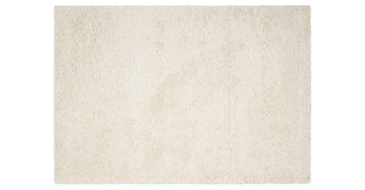 Elin shag rug ivory 8x10 655 rugs shag rug ivory