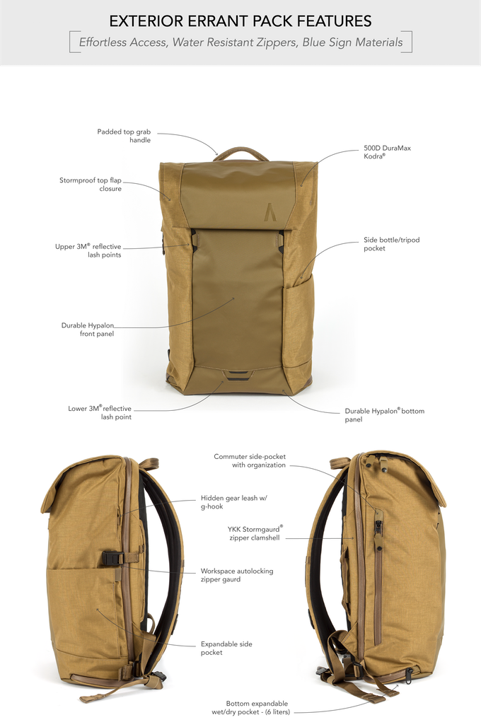 690f889eb1 Errant  The Ultimate Everyday Backpack by Boundary — Kickstarter ...