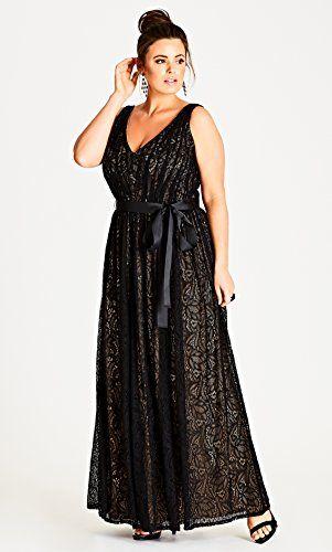 Eternatastic Womens Floral Lace 2 3 Sleeves Maxi Dress Plus Size Evening Party Dress Women S Plus Size Desi Clothing Black Lace Maxi Dress Plus Size Occasion Dresses Plus Size Maxi Dresses