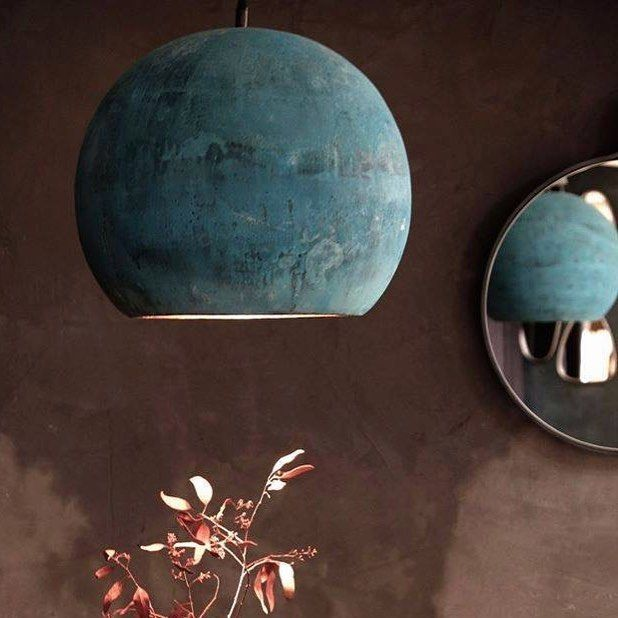 Light up your life! But be fast -our beautiful oxidized copper - lampe für küche