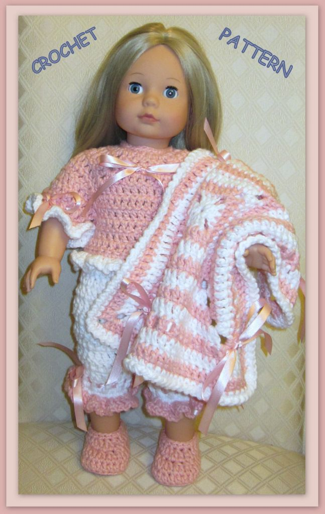 Christmas patterns for 18 inch dolls | crochet patterns inch dolls ...