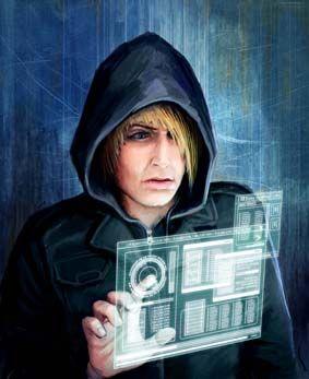 Hacker (cyberpunk setting) by Le-mi on DeviantArt