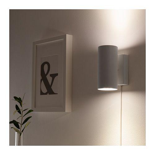 Nymane Wall Up Downlight White Ikea Wall Lights Wall Lamps