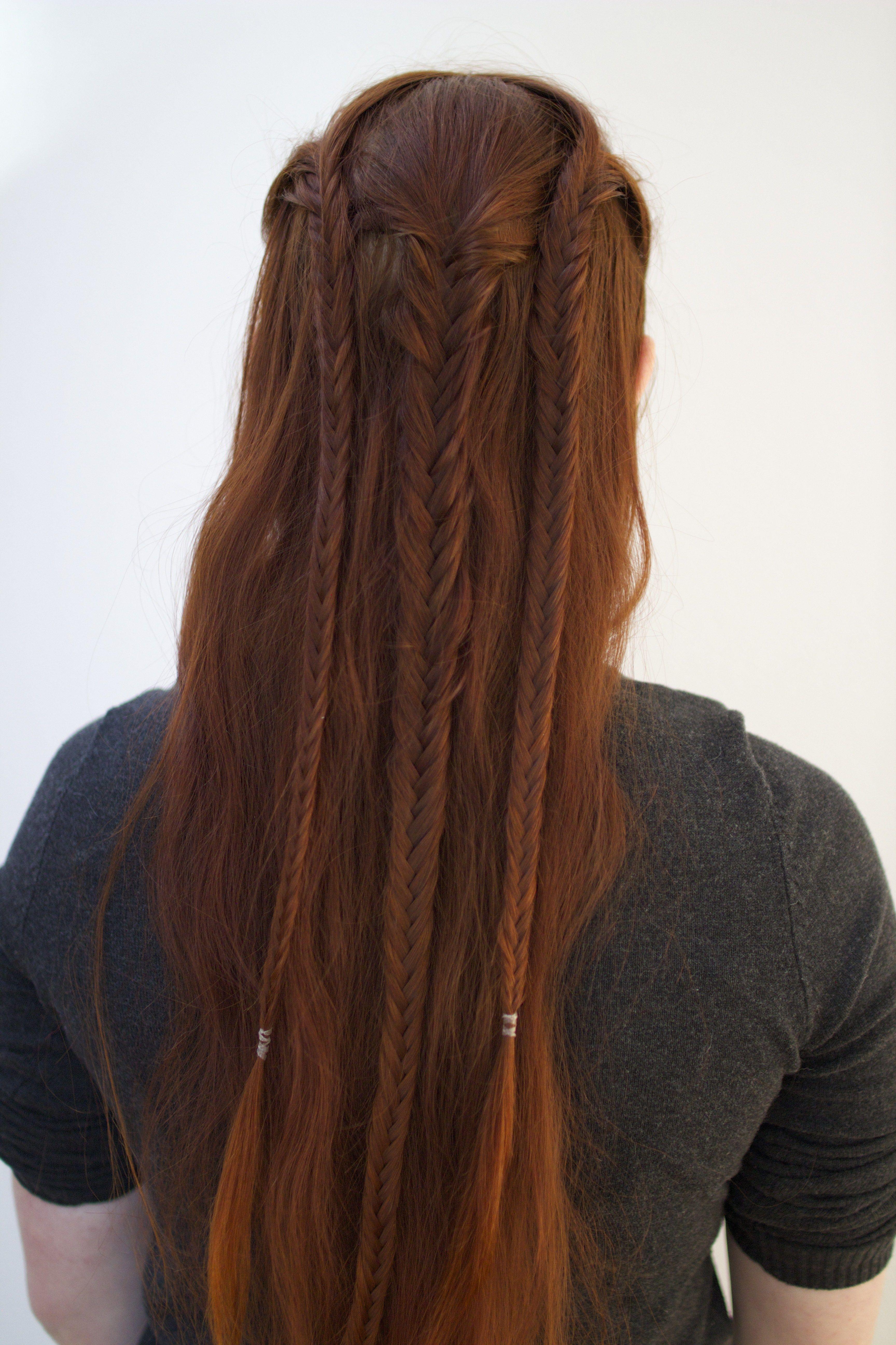Arwen Braided Hairstyle CelticMedievalFantasy Hair
