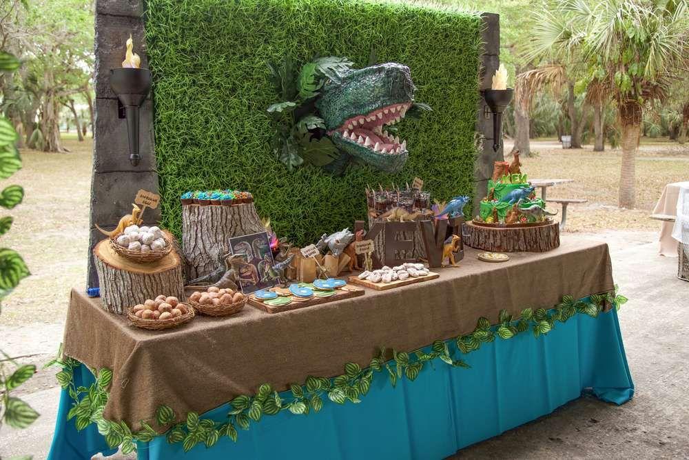 Jurassic World Birthday Party Ideas In 2018 Boy Birthday Party