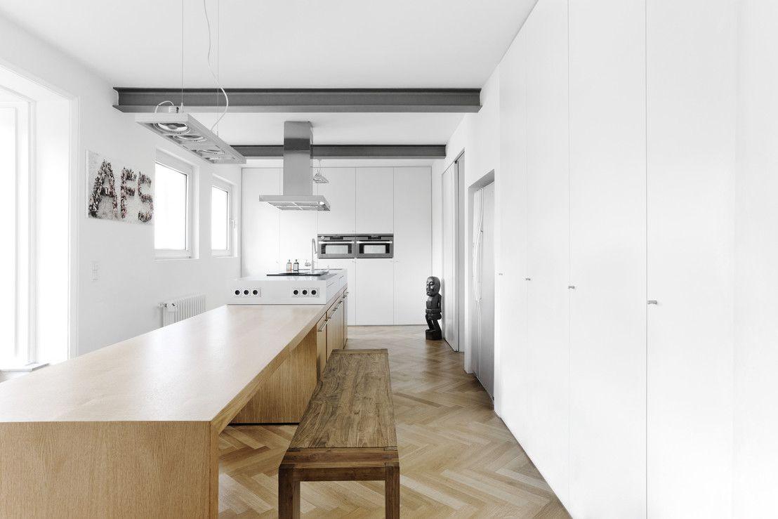 Erweiterung eines Einfamilienhauses in Ratingen : Moderne Küchen von Oliver Keuper Architekt BDA