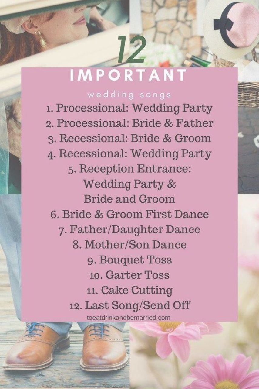 12 Important Wedding Day Songs That Should Be At Every Wedding In 2020 Wedding Songs Wedding Song List Disney Wedding Songs