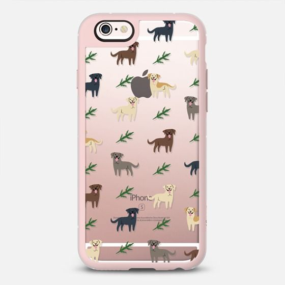 Labradors - CLEAR - New Standard Case