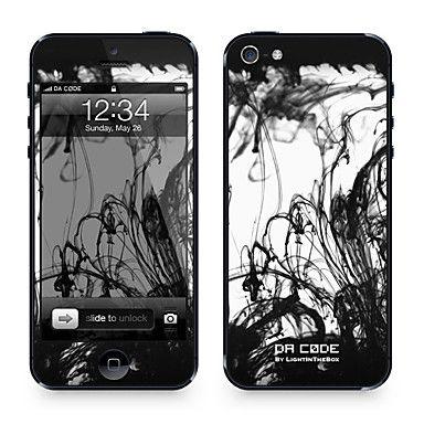 """Codice Da ™ Pelle per iPhone 5/5S: """"Goccia d'inchiostro"""" (Abstract Series) – EUR € 9.19"""