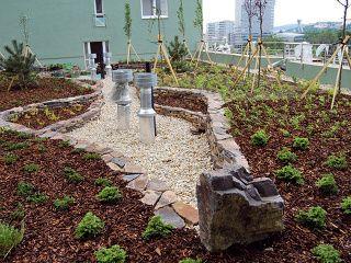 Intenzívna strešná záhrada si