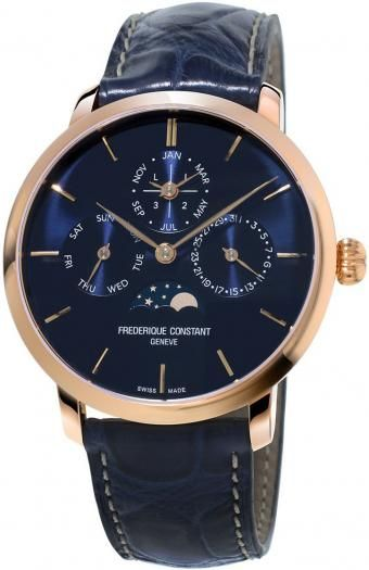 Frederique Constant Slimline Perpetual Calendar | Timeless Luxury Watches