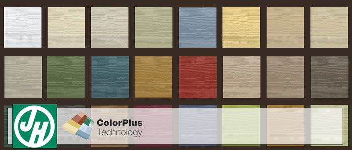 Jameshardie Colorplus Technology Hardiplank Siding Colors Atlanta Georgia Exovations Siding Colors Hardie Siding Fiber Cement Siding