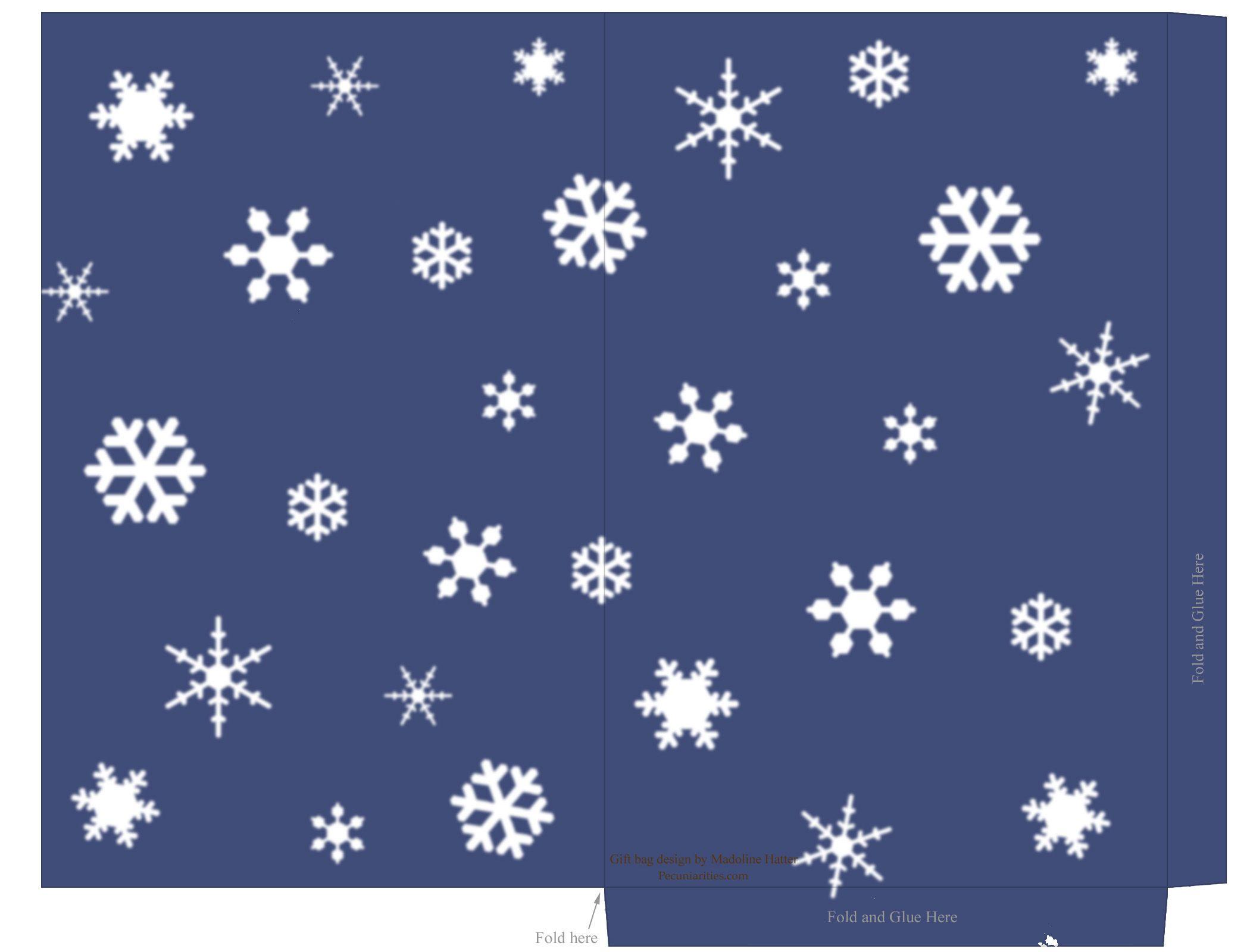 free printable templates holiday snowflake gift tags treat and