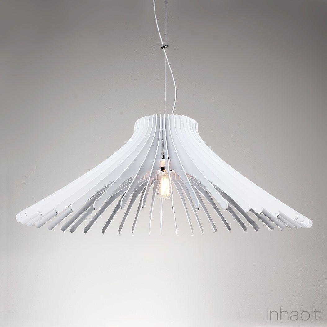 Keck white sculptural pendant light products pinterest pendant