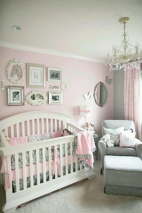 Ideas para decorar habitaciones para bebe nia 17