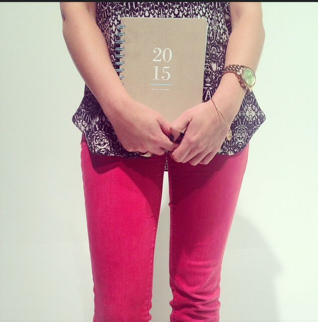 Your planner can be the perfect accessory for every outfit! #myAAG