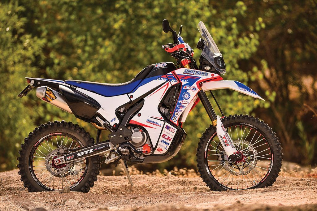 Honda Crf250l Rally Project Adventure Bike Spotlight Dirt Bike Magazine Adventure Bike Honda Dirt Bike Magazine