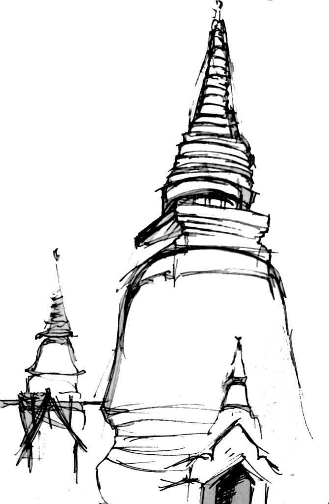 Line Art Jogja : Buddhist temple sketch google search seasia
