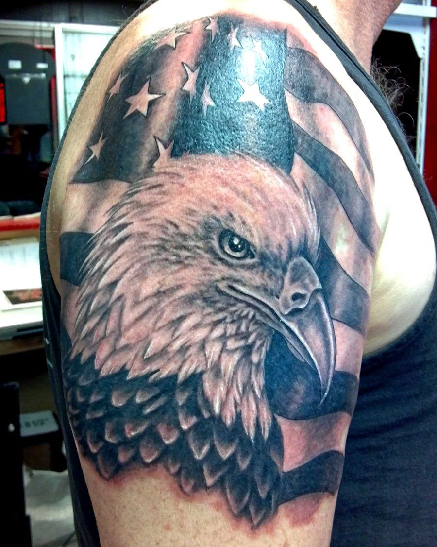 American eagle tattoos high quality photos and flash - Hottest Eagle Tattoo Ideas Tattoo Ideas Gallery Designs For