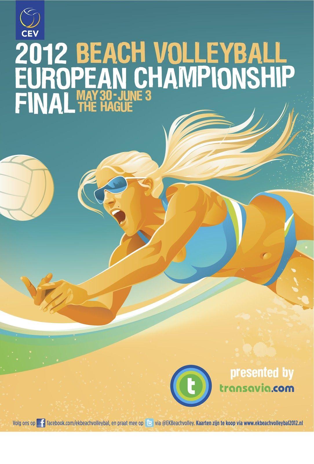 2012 Beach Volleyball Poster