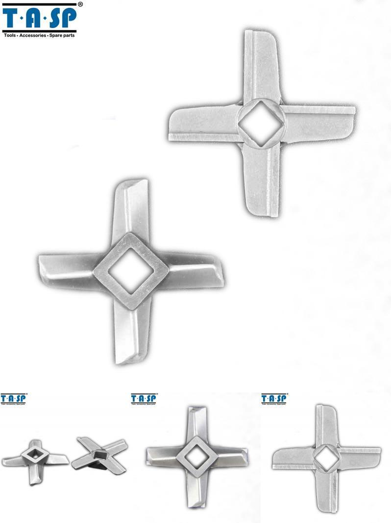 2Pcs Mincer Blades Meat Grinder Parts Accessory Replacement Fits For Moulinex