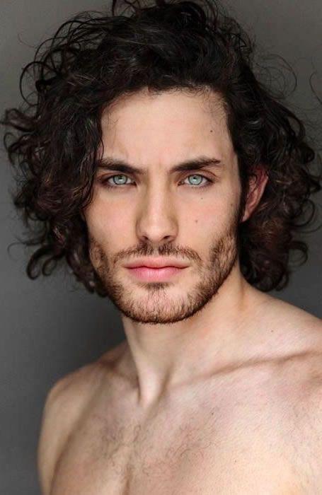 Natural Curly Hair Long Hair Styles Men Long Hair Styles Hair And Beard Styles