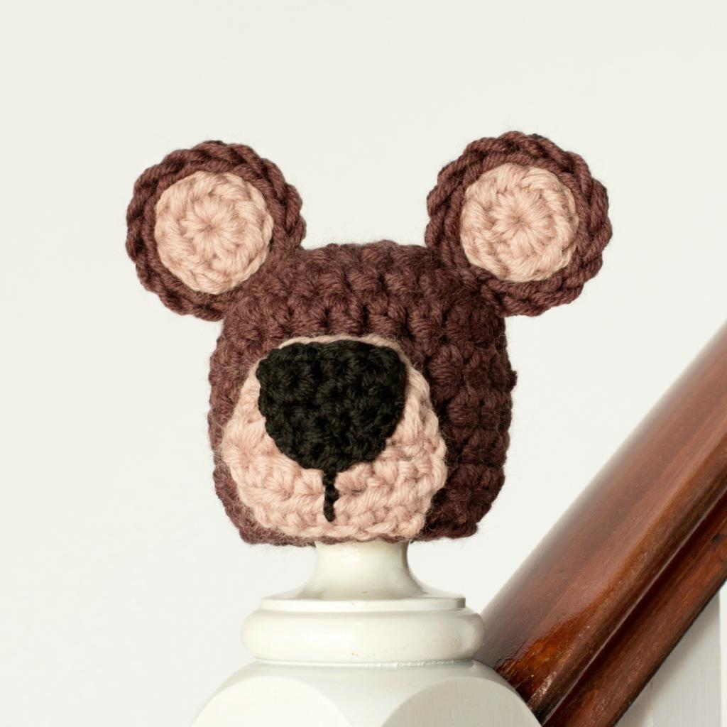 Newborn teddy bear hat crochet pattern hopeful honey hat newborn teddy bear hat crochet pattern bankloansurffo Choice Image