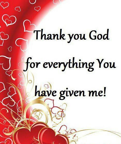 Thank you, God for everything! You answered my prayer and