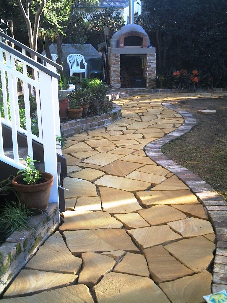 Sandstone Flagging Path