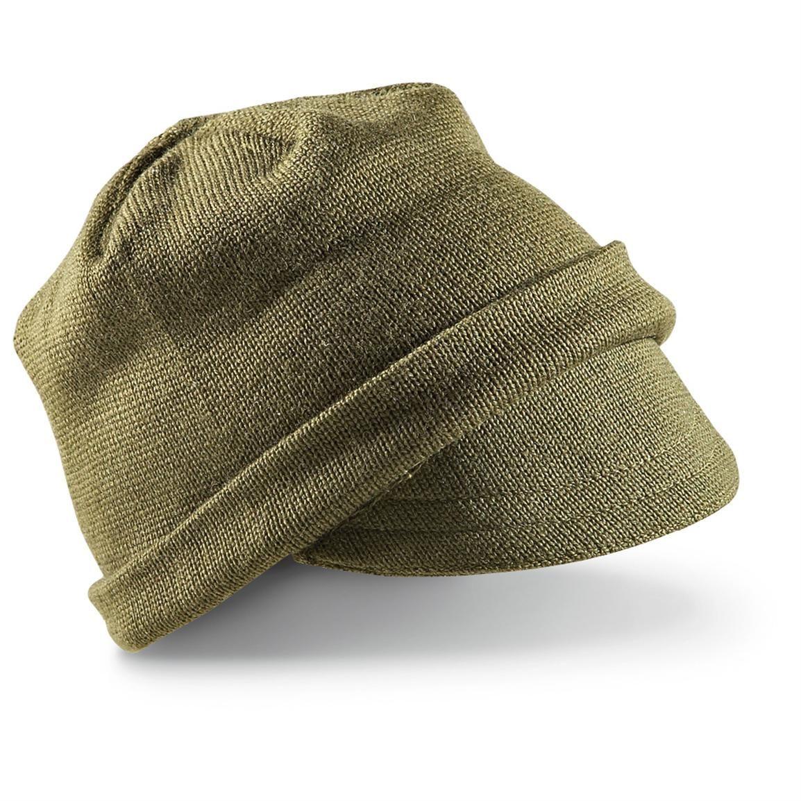 Italian Military Surplus Wool Watch Caps ... e3da4e51705
