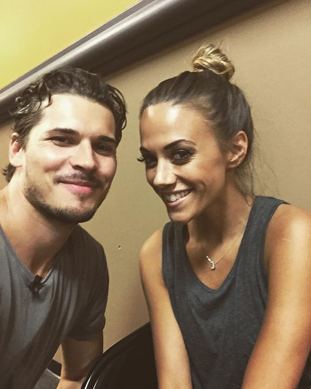 Second day of rehearsals done @kramergirl  killing it @dancingabc #dwts #teamglamer