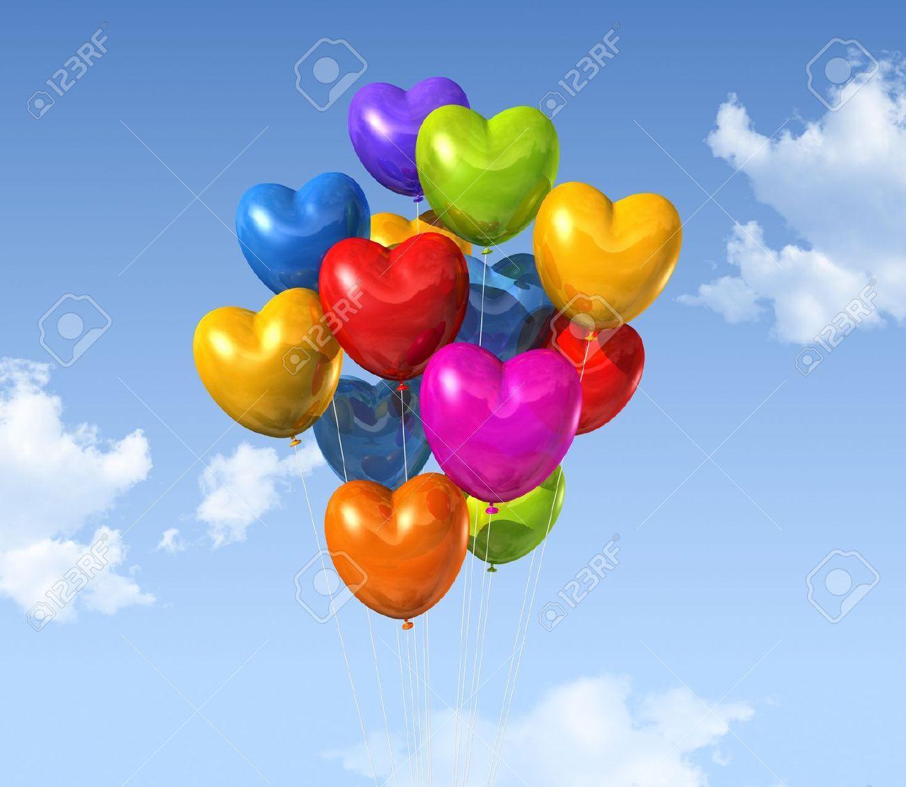 M s de 25 ideas incre bles sobre globos corazon en - Bombas de cumpleanos ...