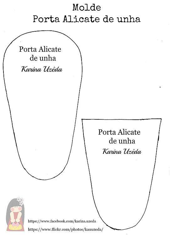 Molde Porta Alicate.jpg - Download at 4shared | bolsas e carteiras ...
