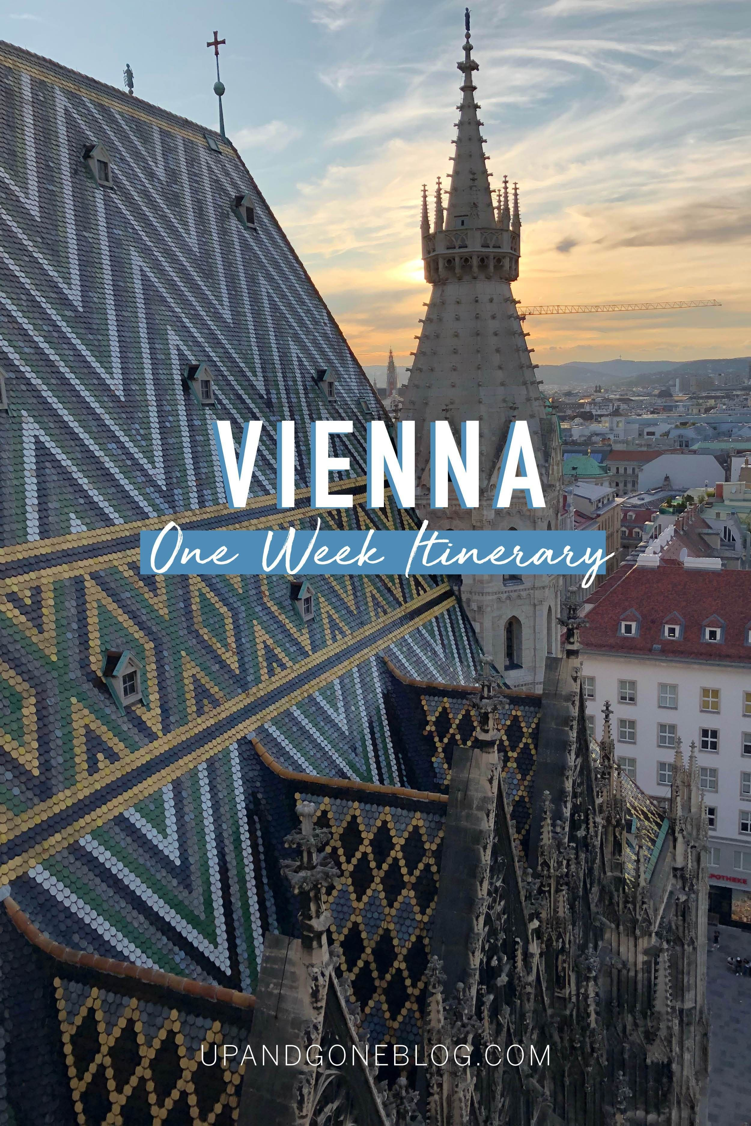 7Day Vienna Itinerary in 2020 Itinerary, Pacific
