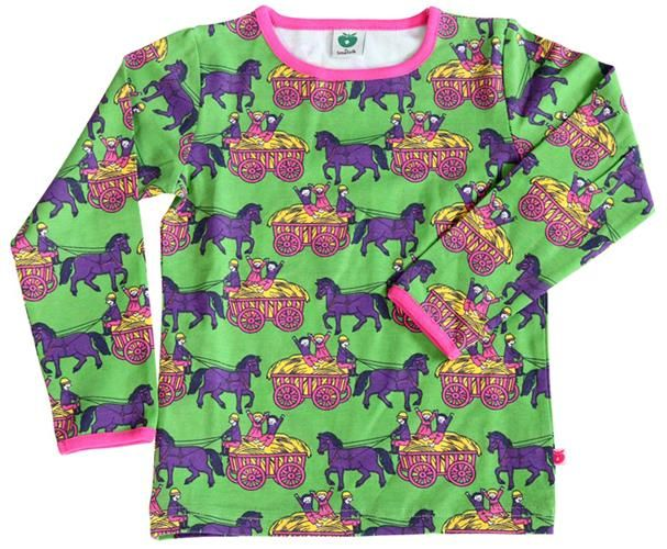 L/s tee - Horse Carriage