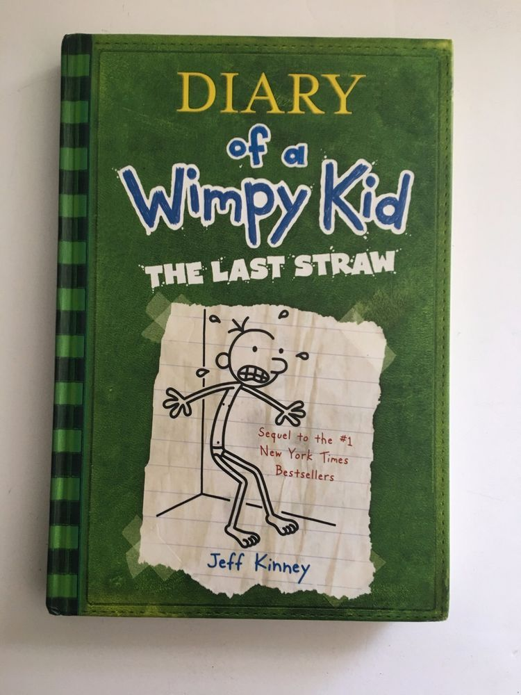 Diary of a wimpy kid the last straw by jeff kinney 2009 diary of a wimpy kid the last straw by jeff kinney 2009 hardcover solutioingenieria Images