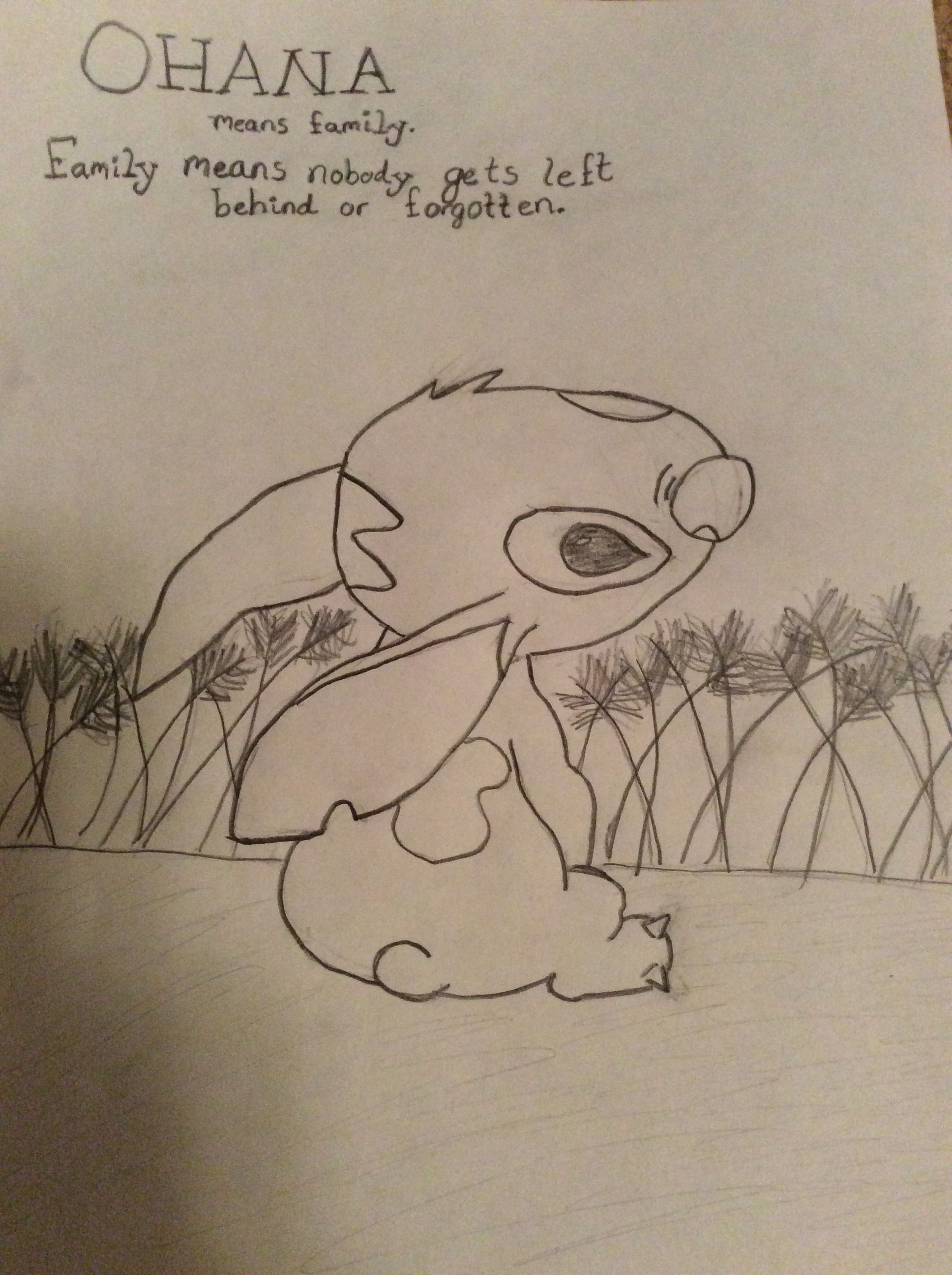 I drew this...it's not so good but....STICH!!