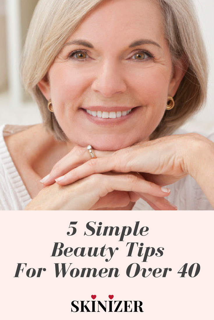 8 simple beauty tips for women over 8. Follow these tips for that