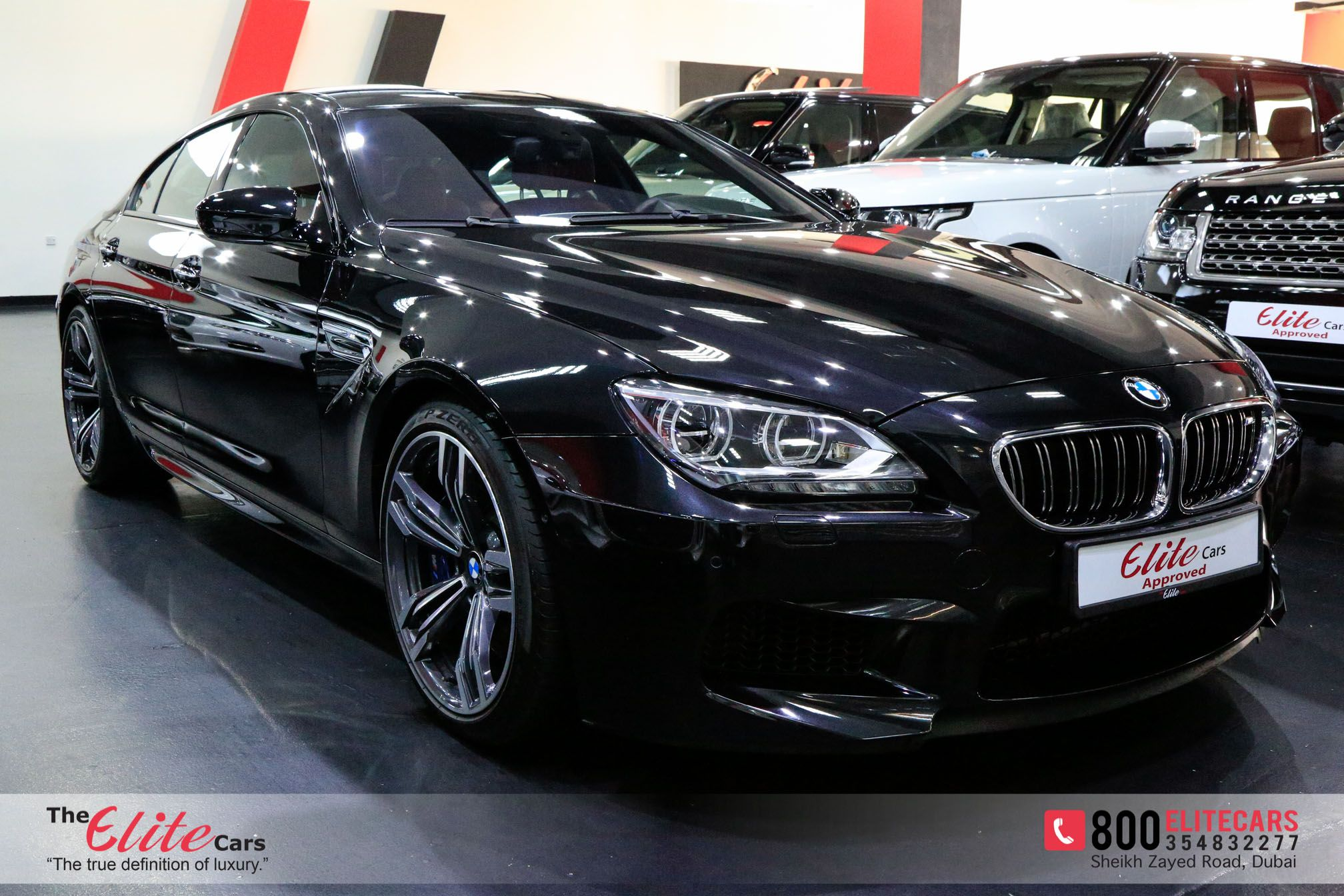 BMW M6 SIX YEARS WARRANTY AND SIX YEARS SERVICE CONTRACT