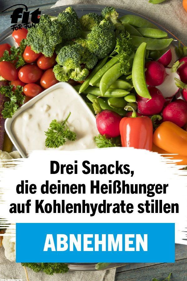 Abnehmen: 6 Snacks gegen den Heißhunger auf Kohlenhydrate