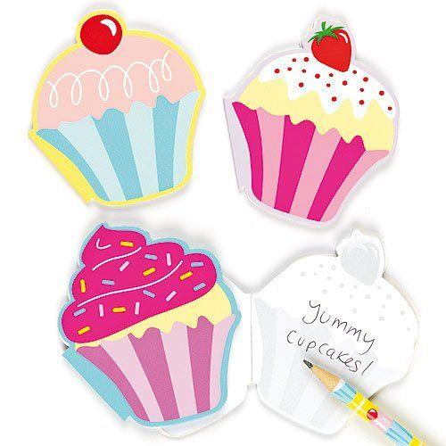 Duftende Notizblöcke - Cupcakes - 6 Stück Baker Ross http://www.amazon.de/dp/B009IRBJNI/ref=cm_sw_r_pi_dp_NH43tb0QT8AJY6MX