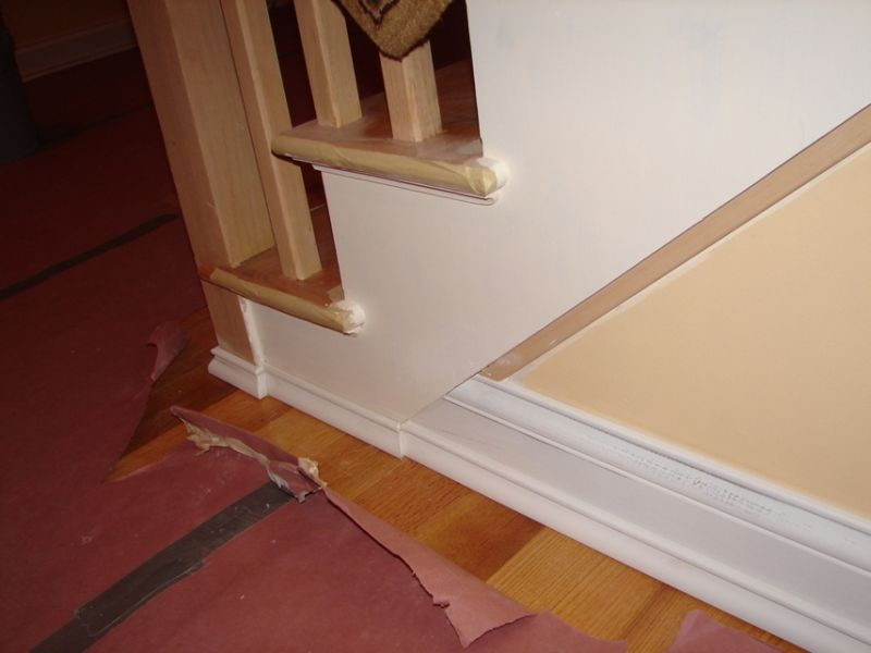 Baseboard To Stairs Trim Transition Stairs Trim Stair Moulding Baseboards