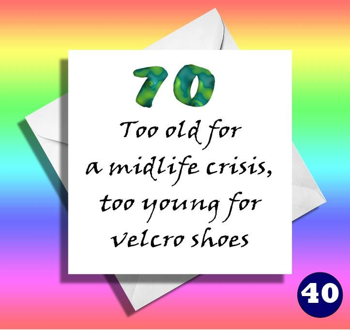 50th Birthday Card60th Card 65th 70th75th 80th85th90thfriendmatewifehusbandbrothersisterhilarious Cardtoo Old For By LOLcardshop On