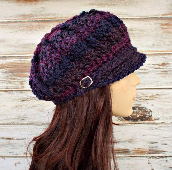 https://www.etsy.com/es/listing/190688517/purple-newsboy-hat-purple ...