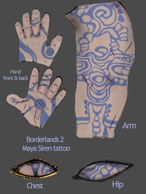 Maya the siren | Arcology LARP 3 - Builds | Borderlands