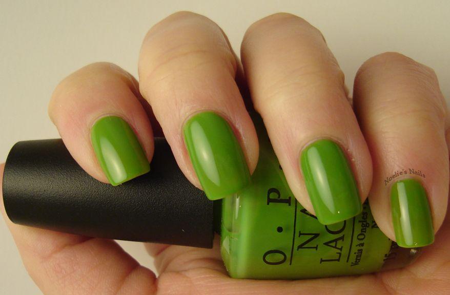 OPI - Green-Wich Village | Nails | Pinterest